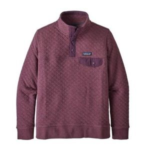 Patagonia womens quilted snap t